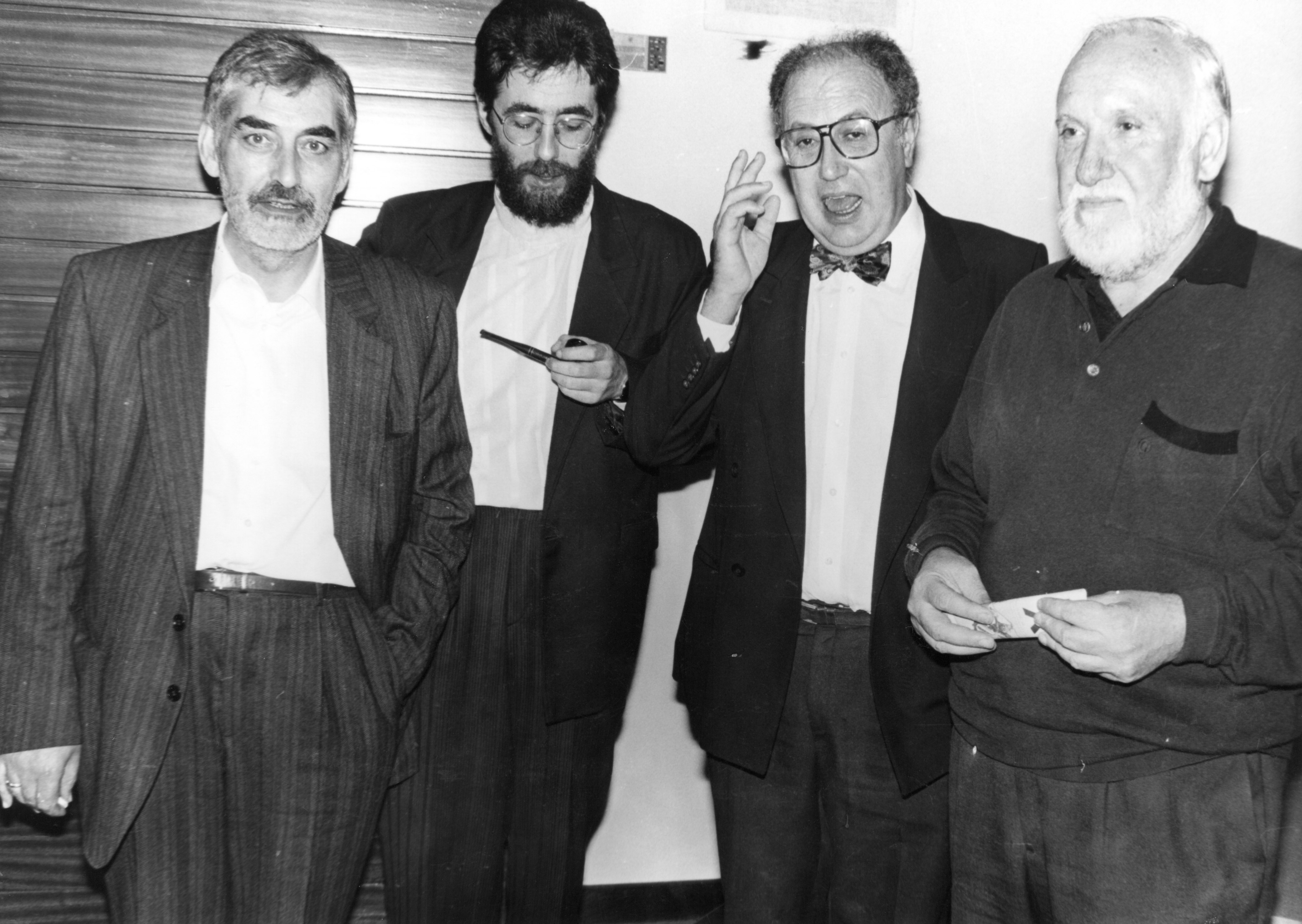 Manuel María, Darío Xohán Cabana, Xosé Luis Mendez Ferrín, Uxío Novoneyra