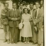 Uxío Novo Neyra, Ramón Piñeiro, A. Bonet, Pura Vazquez, Manuel María, Carlos Maside