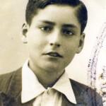 Manuel María aos 11 anos